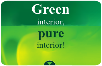Green interior, pure interior
